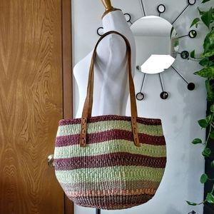 Handbags - HANDMADE Woven Sisal Tote